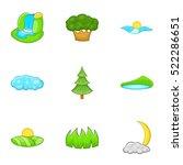 Beautiful Nature Icons Set....