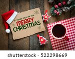 merry christmas christmas...   Shutterstock . vector #522298669
