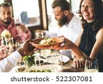 restaurant chilling out classy... | Shutterstock . vector #522307081