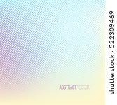 light color halftone background....   Shutterstock .eps vector #522309469