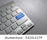 keyboard button  internet ... | Shutterstock . vector #522311179
