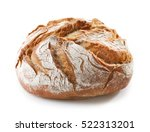 Freshly Baked Bread Isolated O...