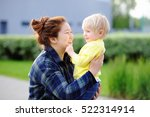 young asian woman with cute... | Shutterstock . vector #522314914