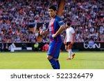 valencia  spain   oct 22  luis... | Shutterstock . vector #522326479