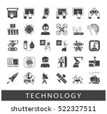 set of technology icons.... | Shutterstock .eps vector #522327511