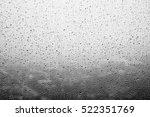 Rain Drops On Window Glasses...