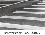 Zebra Crossing Painted Asphalt Traffic - Fine Art prints
