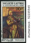 togolese republic  circa 1976 ... | Shutterstock . vector #52235545