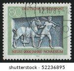 germany    circa 1984  stamp... | Shutterstock . vector #52236895