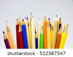 back to school theme  colour...   Shutterstock . vector #522387547