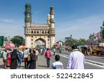 hyderabad city  andhra pradesh  ... | Shutterstock . vector #522422845
