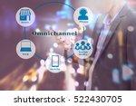 marketing data management... | Shutterstock . vector #522430705