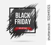 black friday. sale   shopping...   Shutterstock .eps vector #522445321