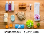 set of spa objects decomposed... | Shutterstock . vector #522446881