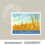 Oklahoma Postage Stamp Design....