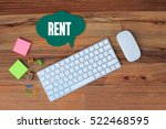 Small photo of Rent, Business Concept