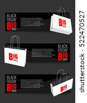 abstract vector black friday... | Shutterstock .eps vector #522470527