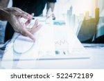 double exposure of... | Shutterstock . vector #522472189