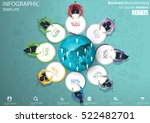 business brainstorming for... | Shutterstock .eps vector #522482701