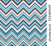 chevron in shades of blue with...   Shutterstock .eps vector #522489649