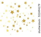 gold star background | Shutterstock .eps vector #522494179