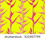 summer jungle pattern with... | Shutterstock .eps vector #522507799
