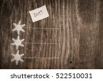new year resolution  this year... | Shutterstock . vector #522510031