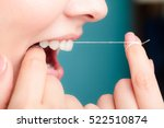 oral hygiene and health care.... | Shutterstock . vector #522510874