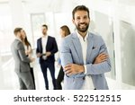 businessman standing in the... | Shutterstock . vector #522512515