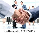 concept of partnership  ... | Shutterstock . vector #522529849