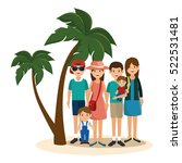 summer vacations holiday poster | Shutterstock .eps vector #522531481