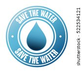 save the water seal | Shutterstock .eps vector #522534121