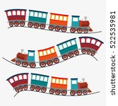 travel by train concept icon | Shutterstock .eps vector #522535981