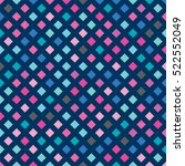 vector color pattern. geometric ... | Shutterstock .eps vector #522552049