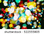 abstract multicolored fractal... | Shutterstock . vector #522555805