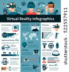 virtual and augmented reality... | Shutterstock .eps vector #522557911