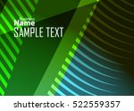 green abstract template for... | Shutterstock .eps vector #522559357