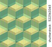 seamless cube pattern. abstract ... | Shutterstock .eps vector #522563365