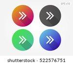 colored icon of arrows symbol...