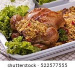 Stuffed Chicken With Crumbly