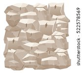 stone wall. vector illustration.