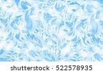frost glass pattern. winter...   Shutterstock .eps vector #522578935