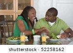 young black african american... | Shutterstock . vector #52258162
