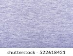 close up of jersey fabric... | Shutterstock . vector #522618421