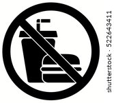 no food allowed symbol ...