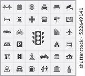 traffic light icon. city icons...