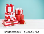 Gift Boxes And Present For...