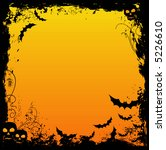 grungy halloween background | Shutterstock .eps vector #5226610