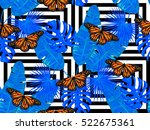 Summer Jungle Pattern With...