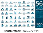 mega set and big group  real... | Shutterstock .eps vector #522679744